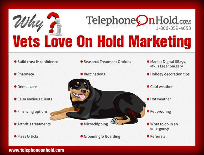 Telephone On Hold Veterinary Information