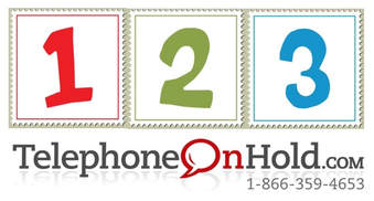 A custom music on hold production from Telephone On Hold is as easy as 1, 2, 3!
