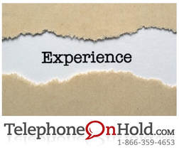 Experience On Hold by TelephoneOnHold.com