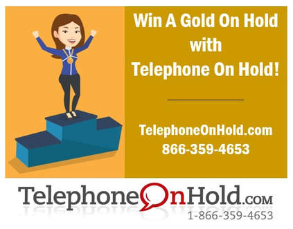 Win A Gold On Hold with Telephone On Hold
