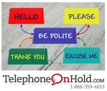Telephone Etiquette from Telephone On Hold