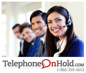 TelephoneOnHold.com Call Center Music On Hold Marketing Solution