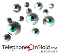 Eye Care Music On Hold Marketing Strategy from Telephone On HoldPicture