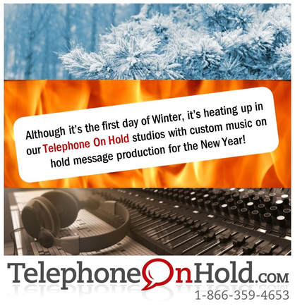 First Day of Winter from Telephone On Hold