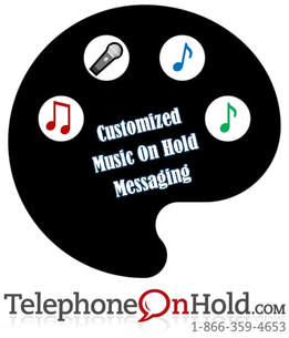 Custom Music On Hold Messaging from Telephone On Hold