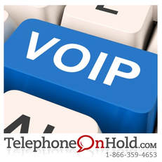 Hosted PBX, Virtual PBX, Voice Over Internet Protocol (VoIP) Phone Audio from Telephone On Hold