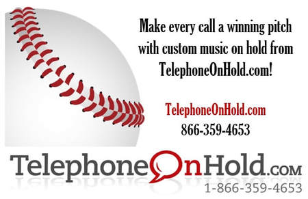 Make every call a winning pitch with custom Music On Hold from TelephoneOnHold.com!