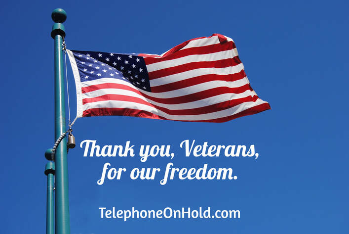Thank you, Veterans, for our freedom.