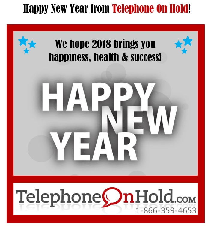 Happy New Year from Telephone On Hold!
