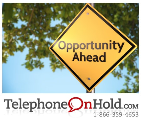 Telephone On Hold Opportunity