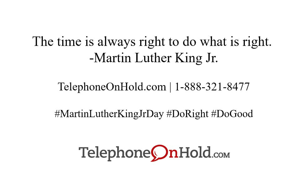 TelephoneOnHold.com - Martin Luther King Jr. Day