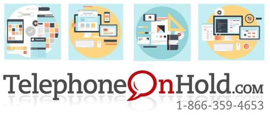 Website Creation Design and Hosting from Telephone On Hold